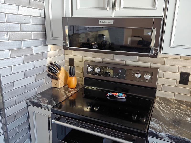 microwave hood microwave above stove
