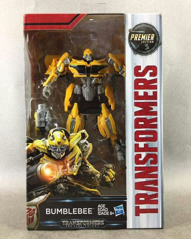 TRANSFORMERS 5 The Last Knight Movie Deluxe Bumblebee New Camaro ACTION FIGURE