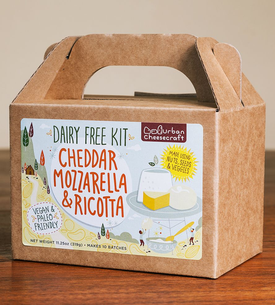 Gifts For Vegans These Foolproof Vegan Gifts Are Perfect For The Holidays Ricotta Vegan Cheddar Dairy Free Cheese