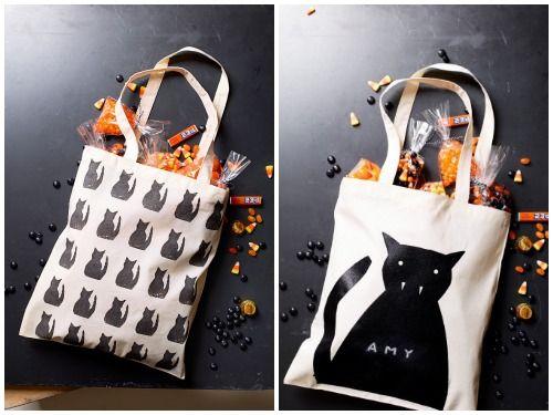 50 Eerily Easy Craft Ideas for Halloween Good housekeeping, Treat - decorate halloween bags