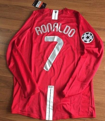 buy popular e8153 15cf1 Cristiano Ronaldo Manchester United 2008 Moscow Champions ...