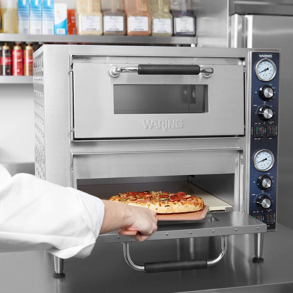 Waring Wpo750 Double Deck Countertop Pizza Oven Oven Oven