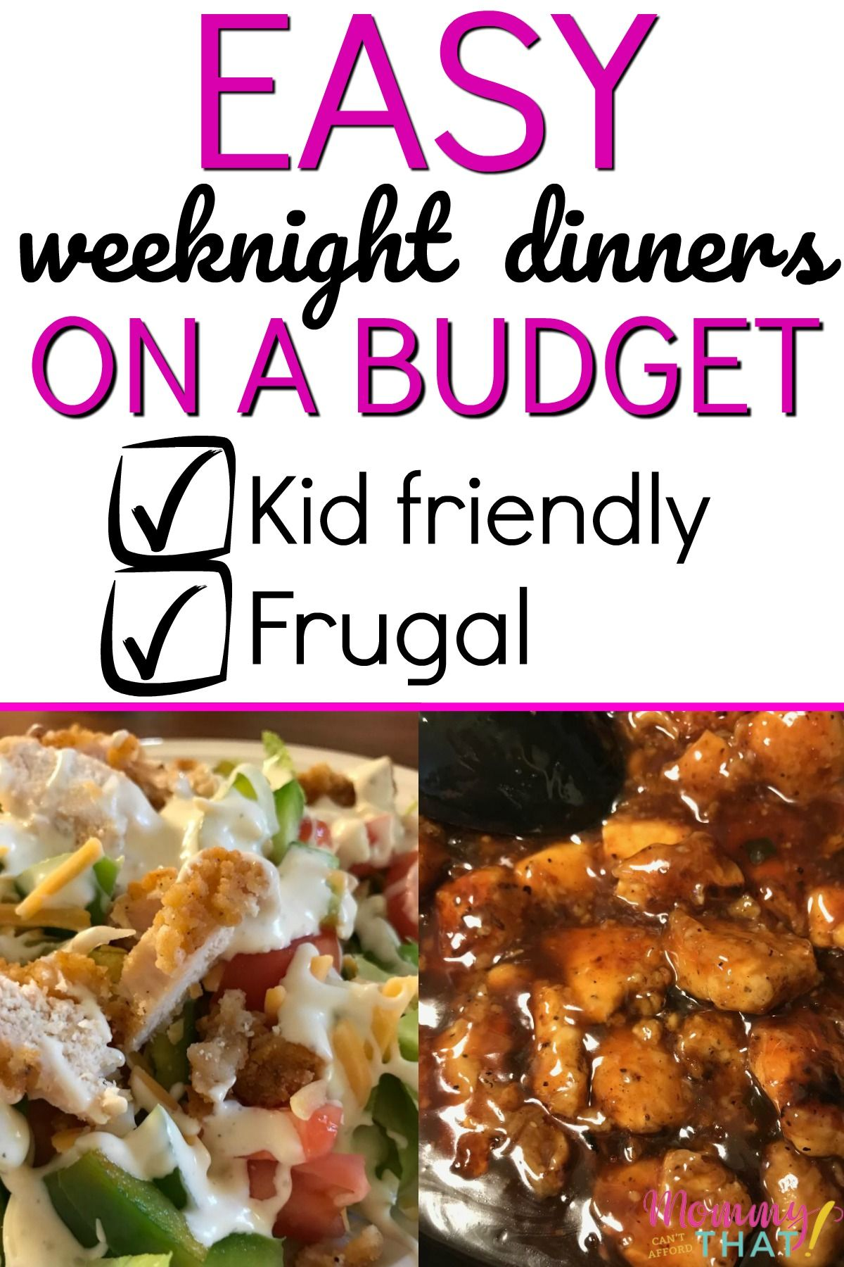 $100 Weekly Family Meal Plan On A Budget images