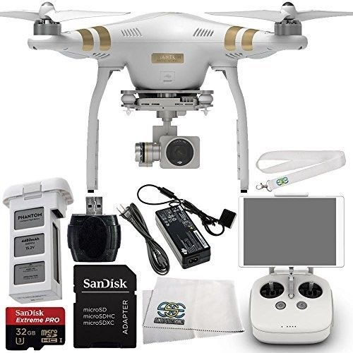 DJI Phantom 3 Professional Quadcopter Drone with 4K UHD ...