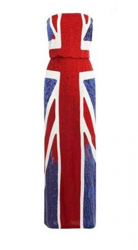 e3e6a659 union jack jersey maxi dress. union jack maxi dress Union Flags, British ...