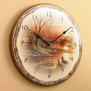 clearance shoreline neighbor wall clock in 2020 wall on walls legend hunting coveralls id=42264