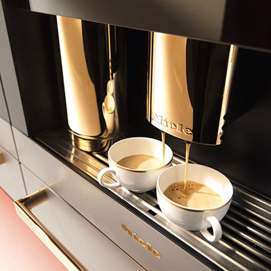Gorgeous Built-In Appliances From Miele