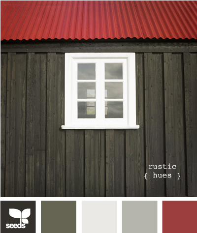 Rustic hues exterior colors red color schemes and - Rustic home exterior color schemes ...