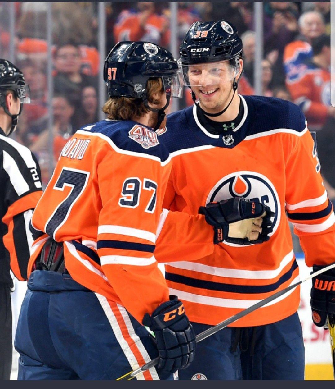 Mcdavid And Chiasson Edmonton Oilers Hockey Edmonton Oilers Mcdavid