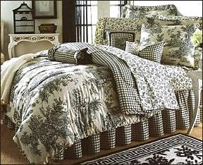 Cuddled Up In My Bed Home Toile Bedding Beautiful Bedrooms