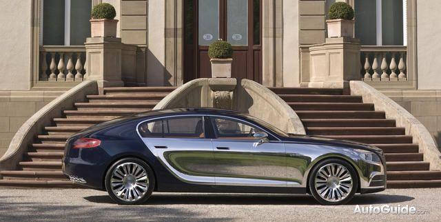 The Bugatti Galibier 16C Sedan
