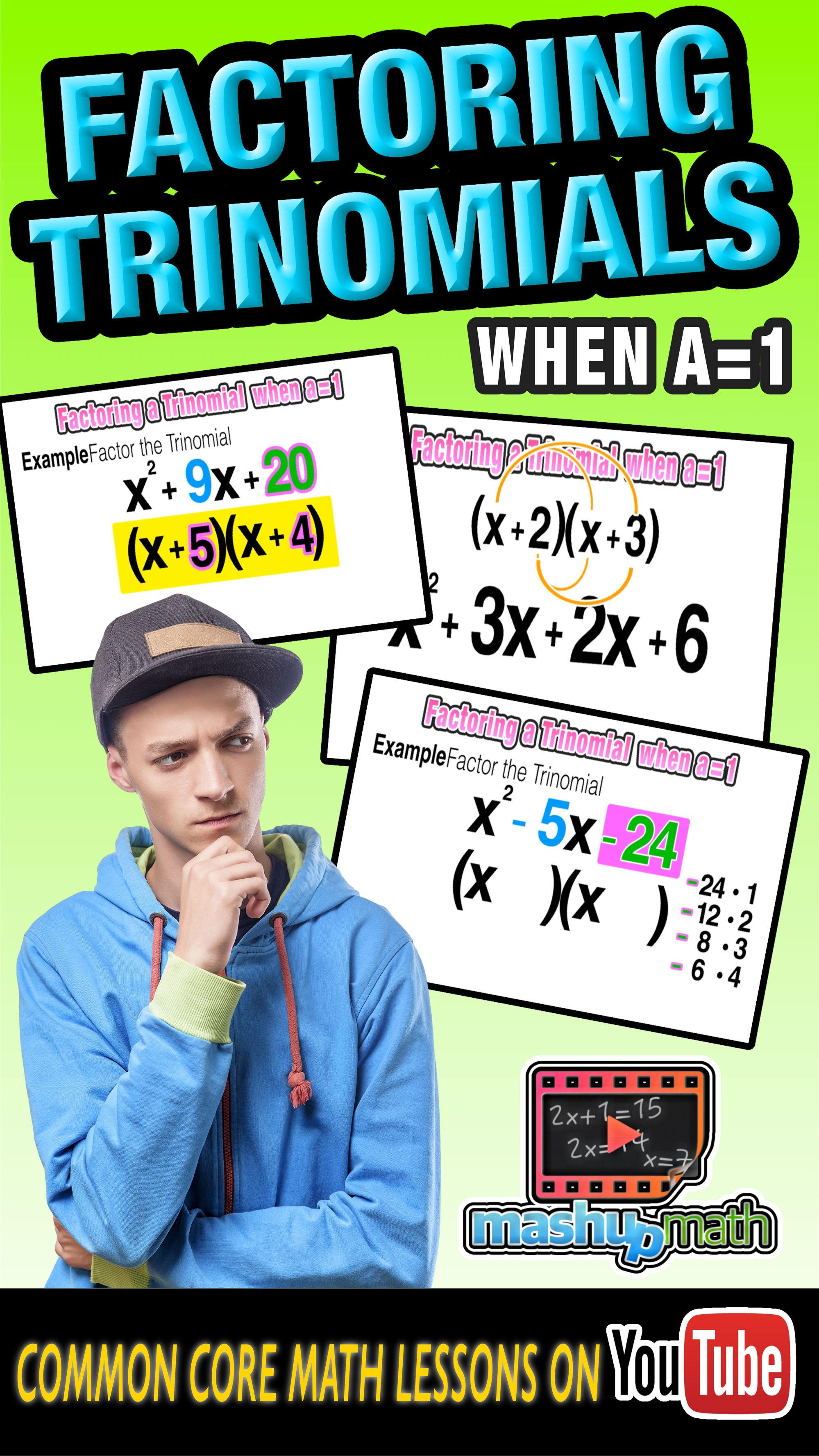 Do You Know How To Factor A Trinomial On This Animated