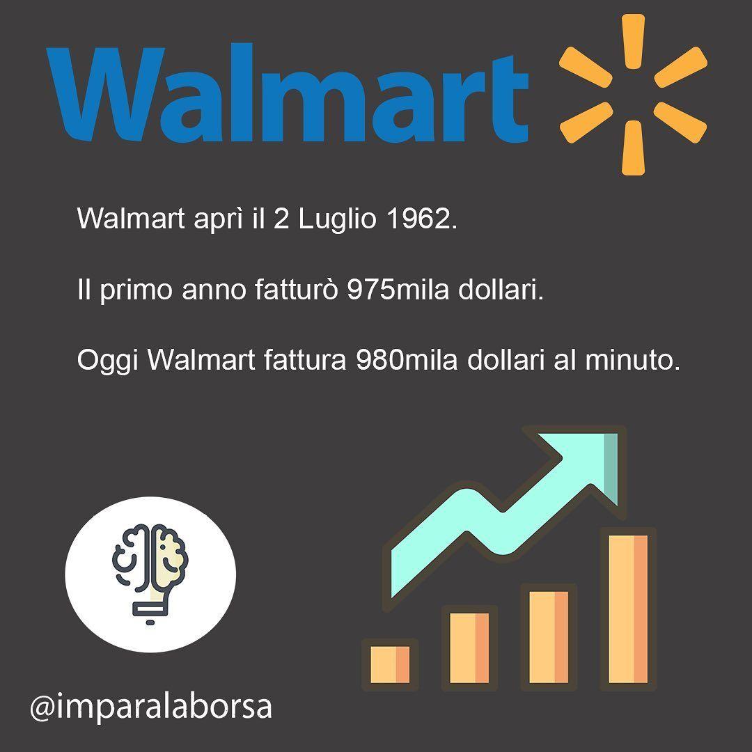 Walmart è una delle società che fattura più al mondo. In
