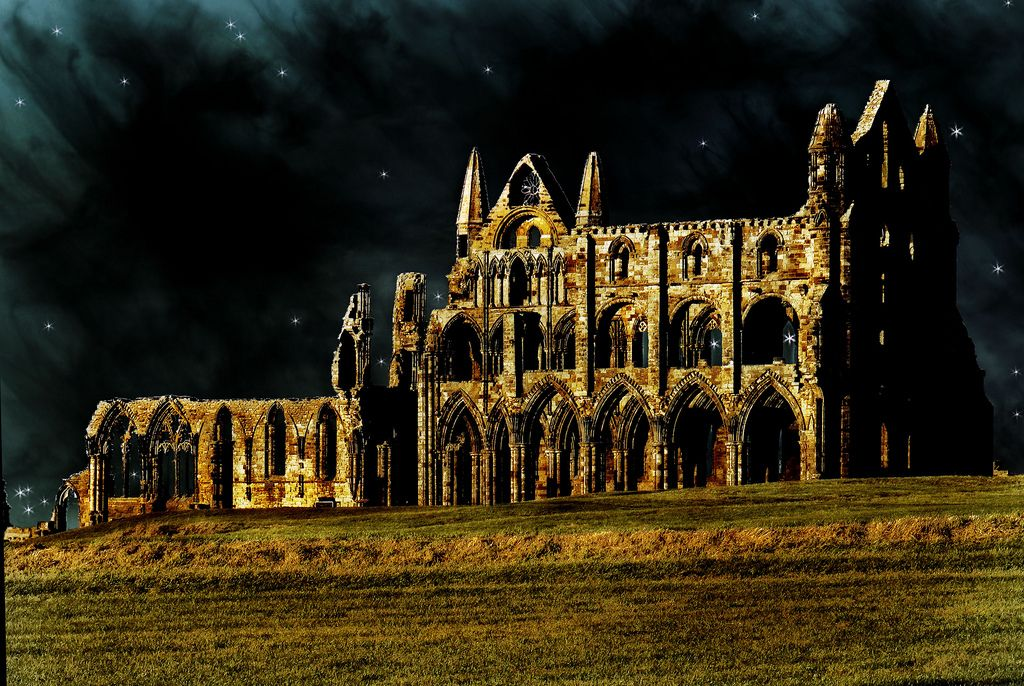 Whitby Abbey Whitby Abbey is a ruined Benedictine abbey sited on Whitby's East Cliff in North Yorkshire on the Northeast coast of England. In 867, the abbey fell to Viking attack, and was abandoned.