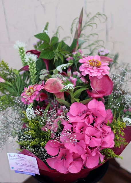 Pretty in pink custom order Birthday bouquet.