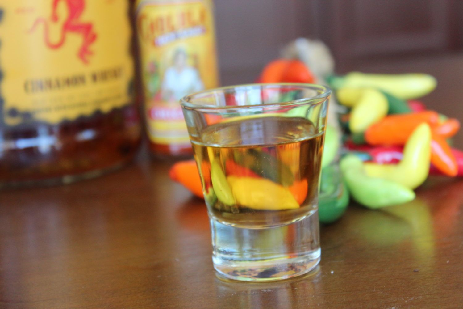 Ring of Fire Shot | Alcoholic Beverages | Fireball whiskey