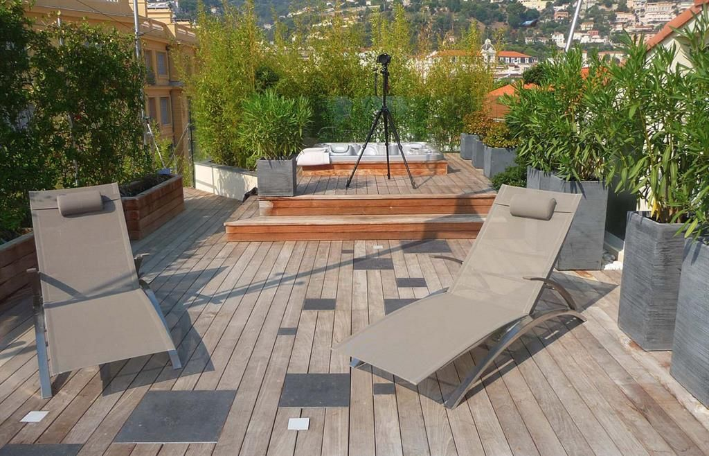 Les Terrasse Avec Jacuzzi Mailleraye Fr Jardin