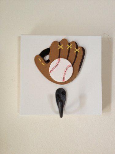 Boys Baseball Single Wall Hook 15 From Amazon Boy