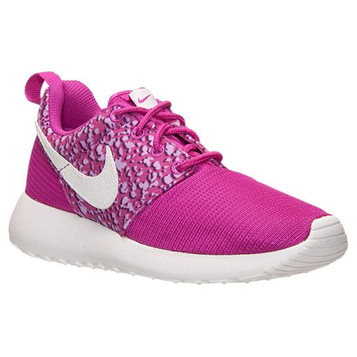 58bb207cab25 Girls  Grade School Nike Roshe One Print Casual Shoes - 677784 500 ...