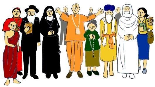 Resultado de imagen para creencias y religiones