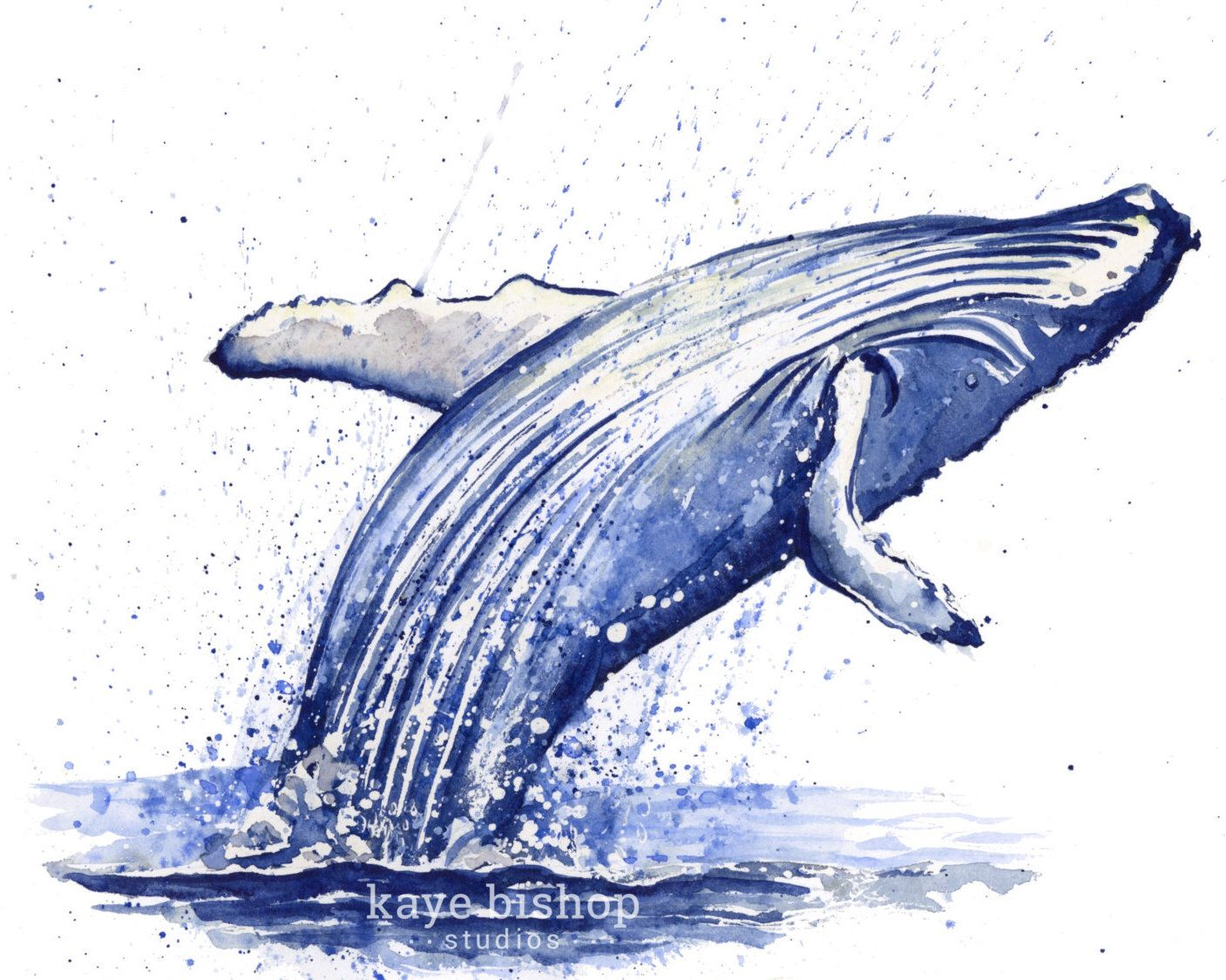 Whale Watercolor Painting Original Painting Wall Art Humpback Whale Watercolor Painting Whale Painting Wha Whale Wall Art Whale Painting Watercolor Whale