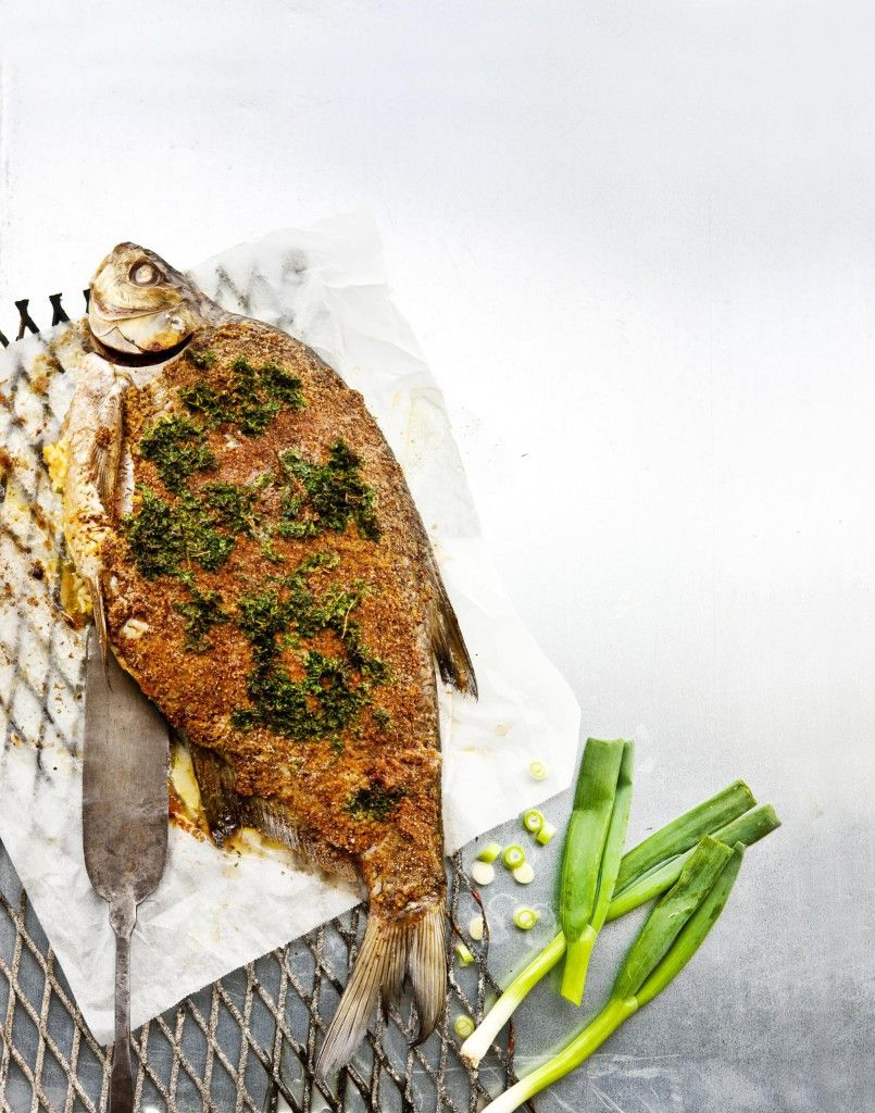 Oven bream, Finnish Food, May 2016