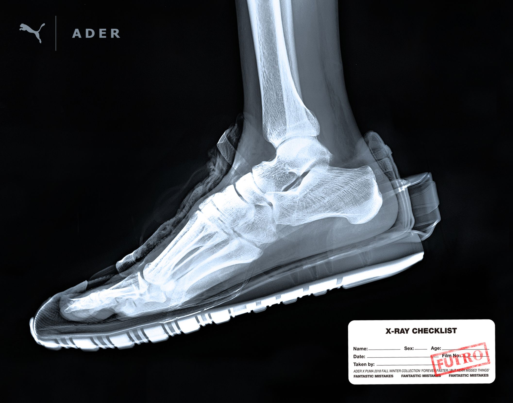 separation shoes 40eba 63723  ADER x PUMA COLLABORATION  FUTRO(FUTURE+RETRO) FALL WINTER 2018