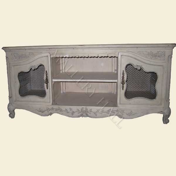 French Country Tv Cabinet Stand Mesh Doors 1 840 00 Mallery Hall Fine High End