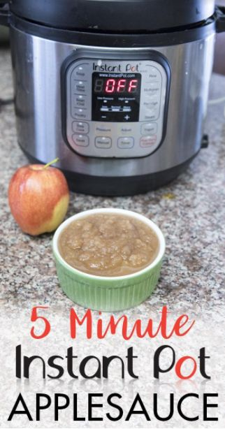 Pork Tenderloin + 5 Minute Applesauce | Instant Pot ...