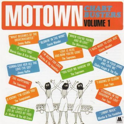 VA Motown Chartbusters, Vol  1 (1997) [FLAC] | 90s R&B, Soul, Funk