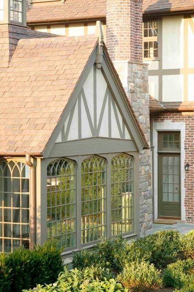 English Tudor Revival East Coast Of Us Exterior Paint Schemeterior House Colorterior