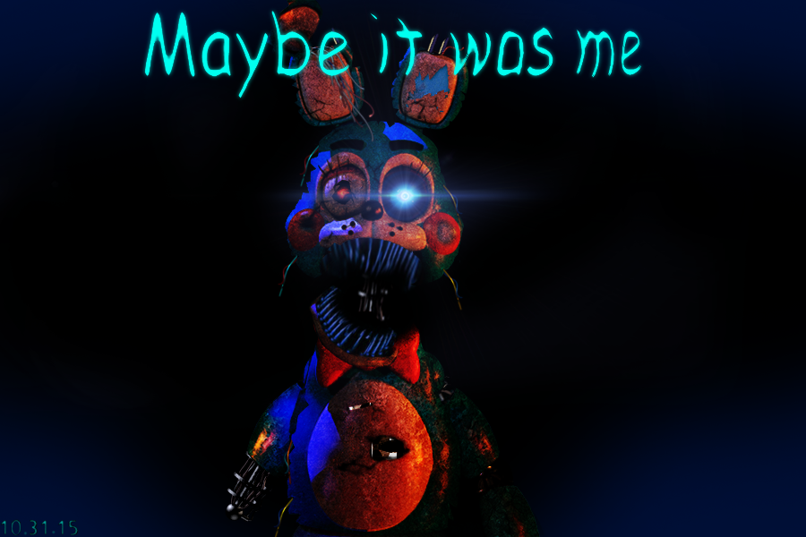 FNAF 4 - Nightmare Toy Bonnie Teaser FANMADE by GoldenNexus on