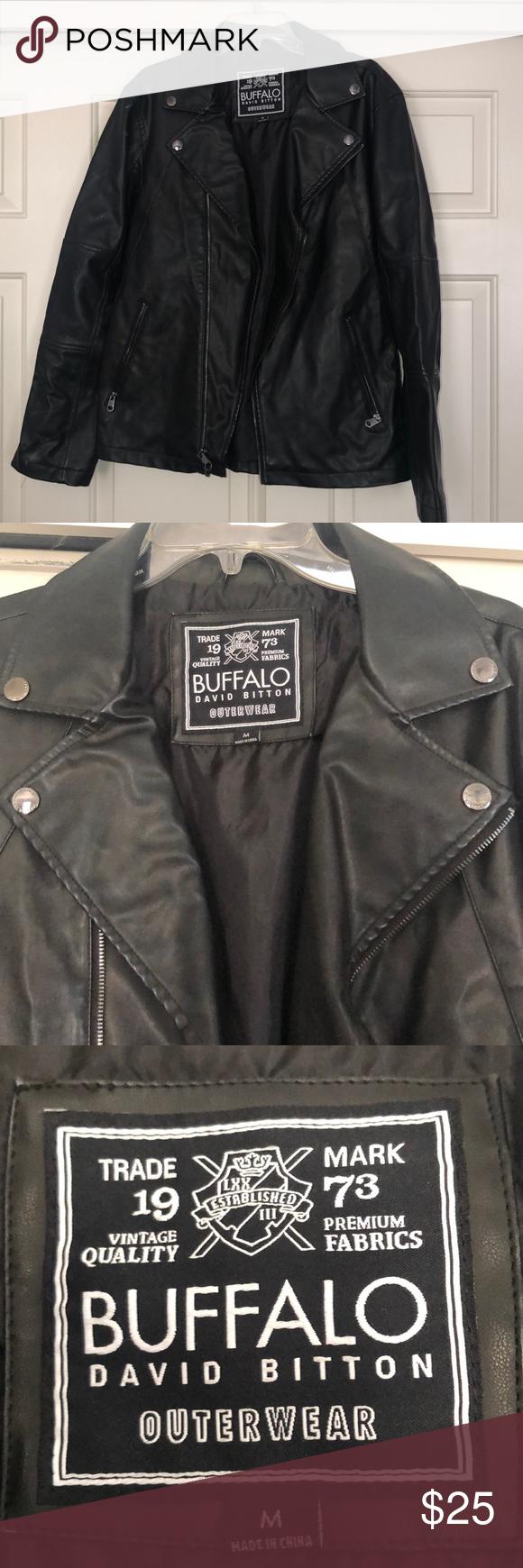 Black Buffalo By David Bitton Leather Jacket Leather Jacket Leather Jacket Black Jackets [ 1740 x 580 Pixel ]