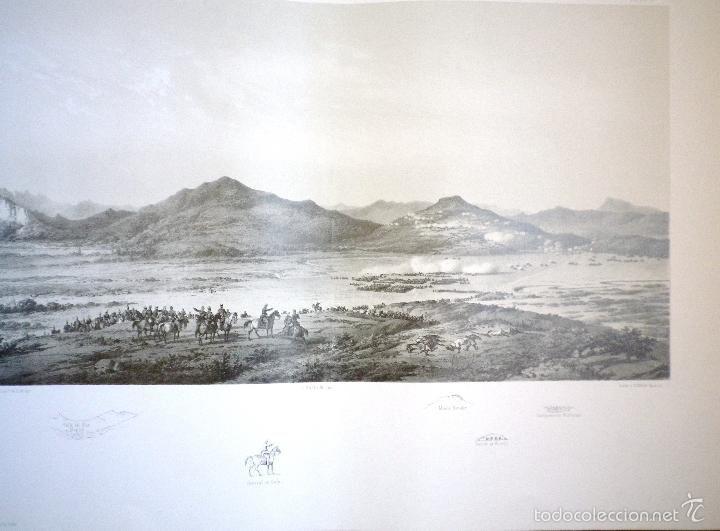 Militaria: ATLAS DE LA GUERRA DE AFRICA 1859 Y 1860 12 LITOGRAFIAS PANORAMICAS - Foto 4 - 57536121