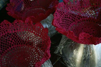Buggie and Jellybean: Doily Basket DIY {the perfect/cheapest hostess gift, promise}