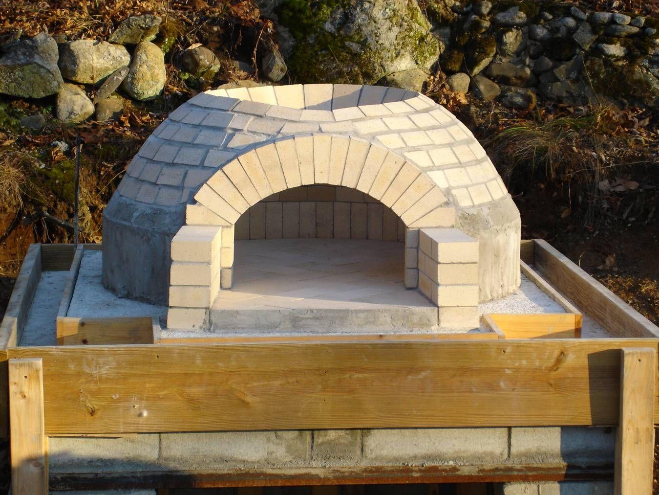 "Pizza Bob's 42"" Build - Forno Bravo Forum: The Wood-Fired ..."