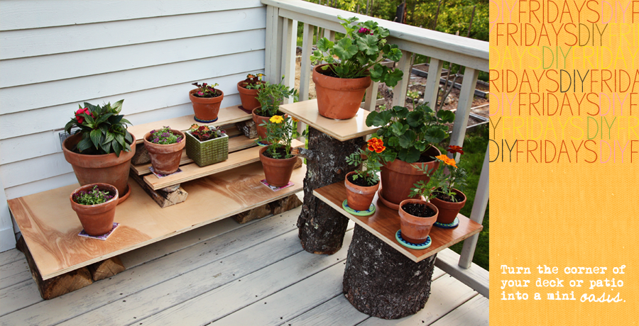 DIY Fridays #4   Wood Scrap Outdoor Plant Stand With Susan Tuttle