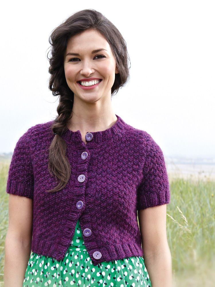 Leaflet Sulka Cardigan Free Download | Knitting patterns, Free ...