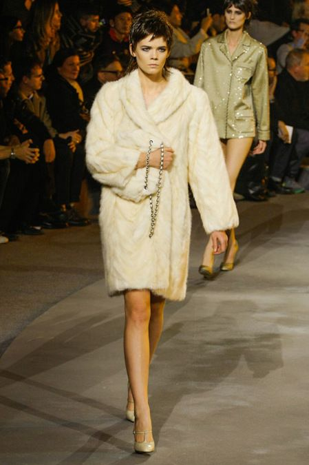 Marc Jacobs, Fall RTW, ohhhh love the white fur!