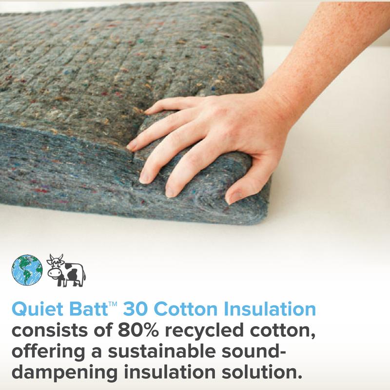 Quiet Batt X2122 30 Soundproofing Insulation Sound Proofing Acoustic Insulation Insulation