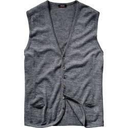 Photo of Cinque men's vest Noble knitted vest Ciconte light gray 46, 48, 50, 52, 54 CinqueCinque