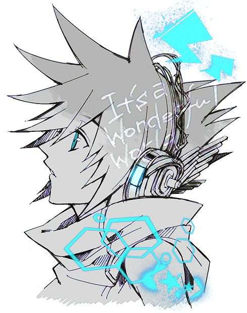 Neku Sakuraba | The World Ends With You | End of the world, World ...