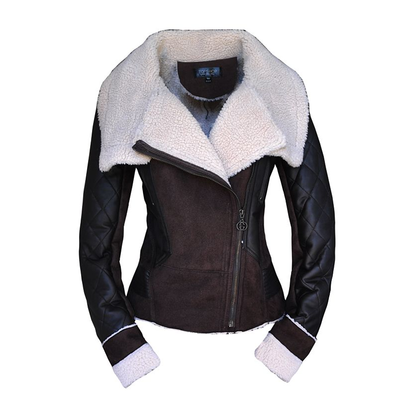Womens Leather Sheepskin Jacket