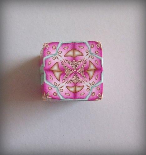 Magenta Kaleidoscope Cane 1 | Flickr - Photo Sharing!