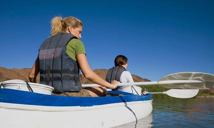 Two Hour Kayak Rental For One Or Two From Newport Fun Tours Up To 62 Off Kayak Trip Kayaking Kayak Tours