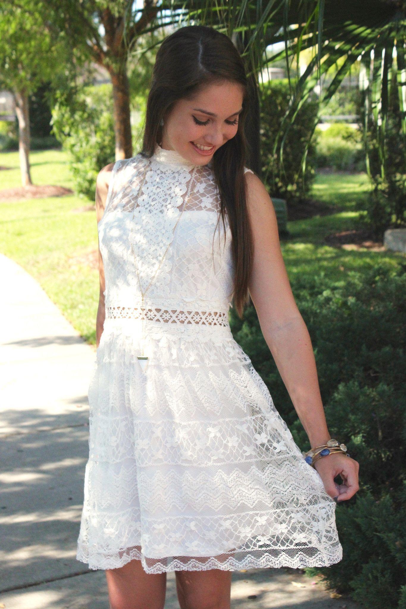 White Pepper Dress