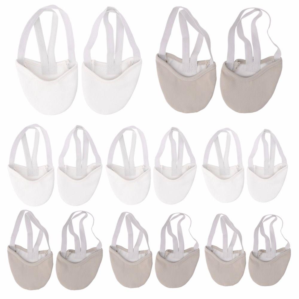 Pol Buty Mieszanka Bawelny I Faux Skora Podeszwa Baletki Taneczne Rytmiczne Gimnastyka Elastycznym Sznurkiem Kapcie Half Shoes Dance Shoes Shoe Brands