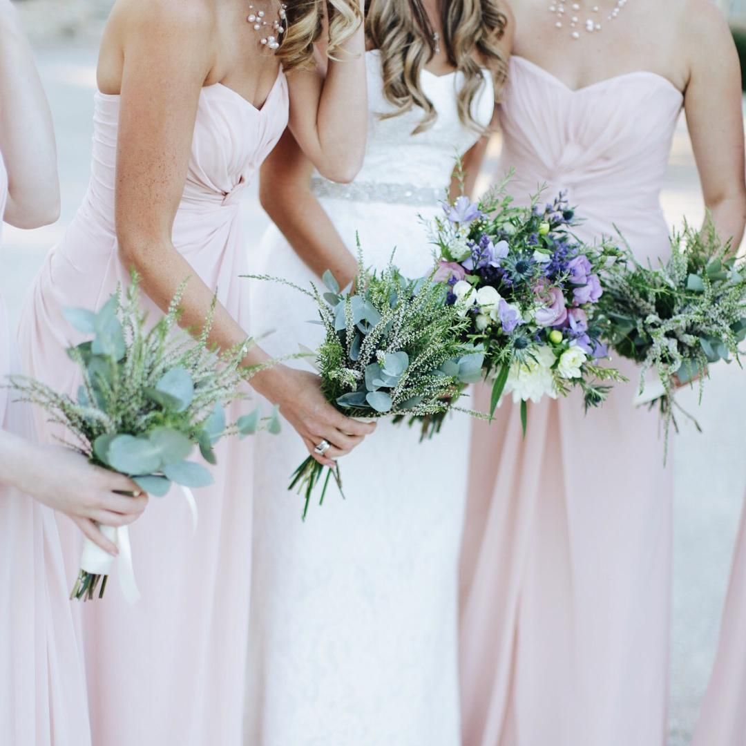 «Introducing the new Mrs Reid and her bridesmaids @mandjphotos @laetitiac_fleursdatelier #masdelarose #provencewedding #destinationwedding…»