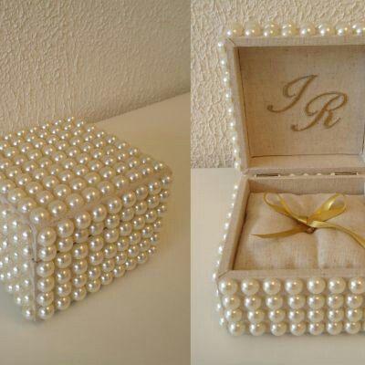 66eb4eea3f2b Porta Alianças | Laura's wedding | Porta aliança casamento, Alianças ...