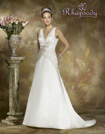 Symphony R6407 wedding dress bridal, prom, pageant, simones ...